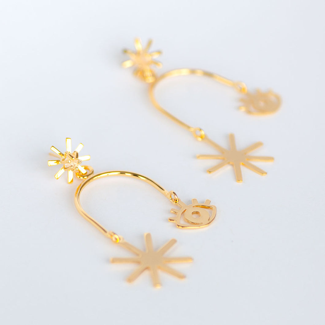 Luciana Mobile Earrings- Small