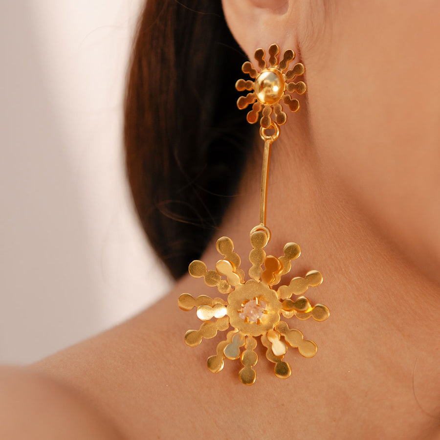 Onda de Rio Double Earrings
