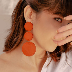 Triple Moon Pop Earrings