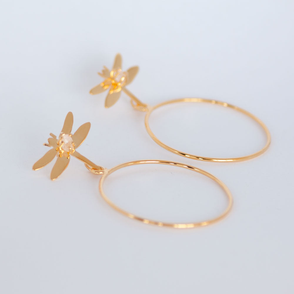 Laura Dragonfly Hoops