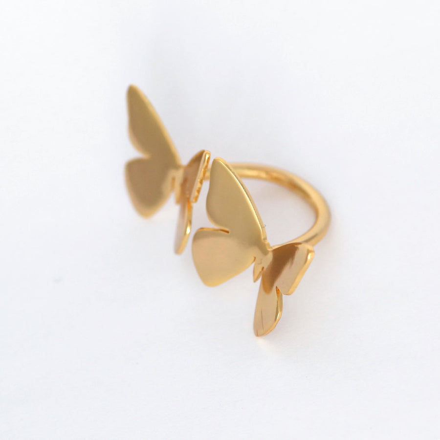 Double Butterfly Albert Ring