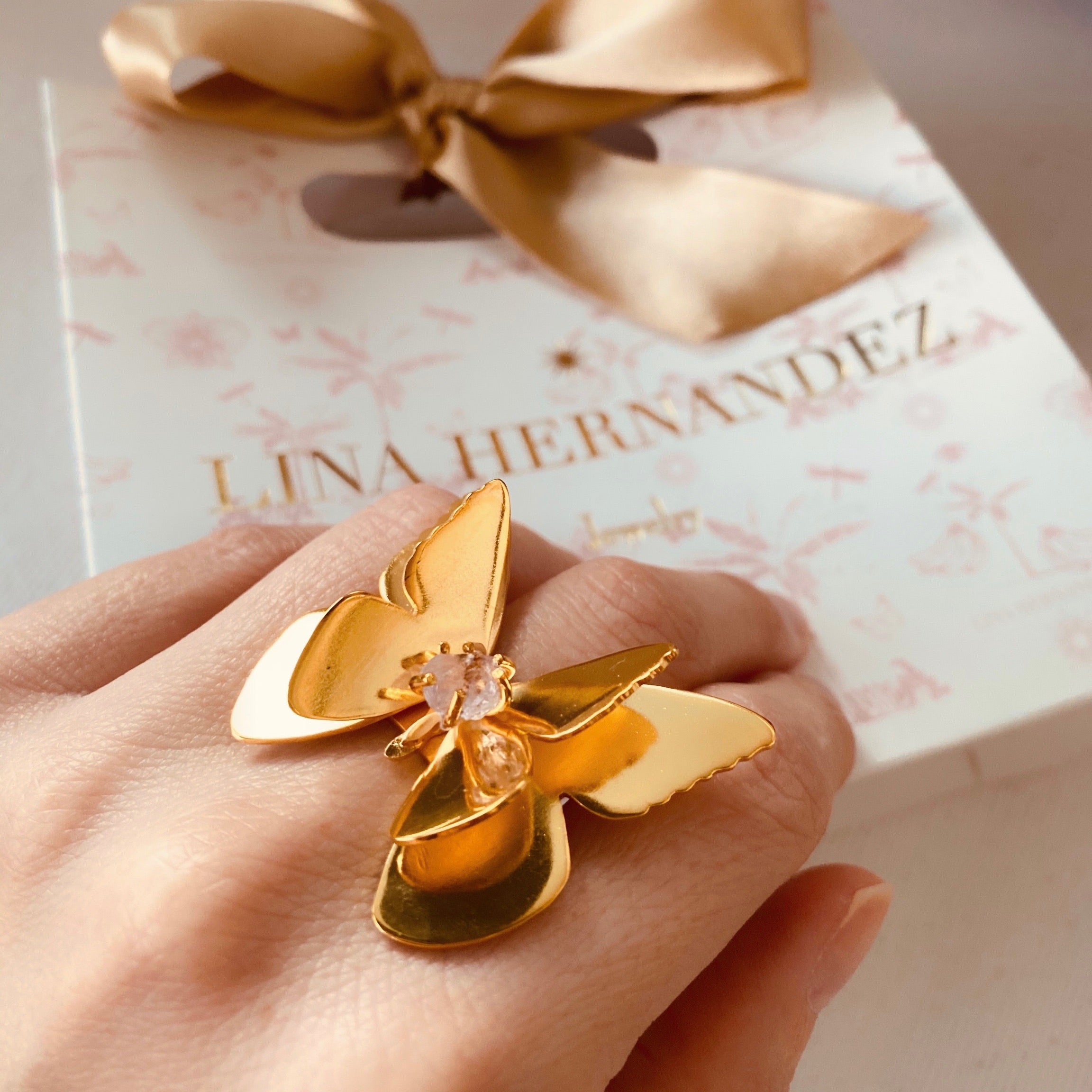 Alma Butterfly Ring