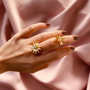 Luciana mini Starburst Ring
