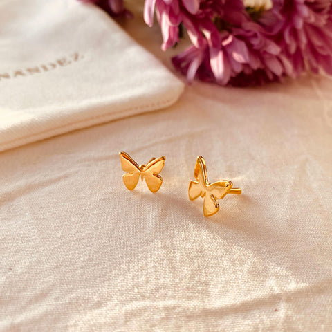 Butterfly Micro Studs
