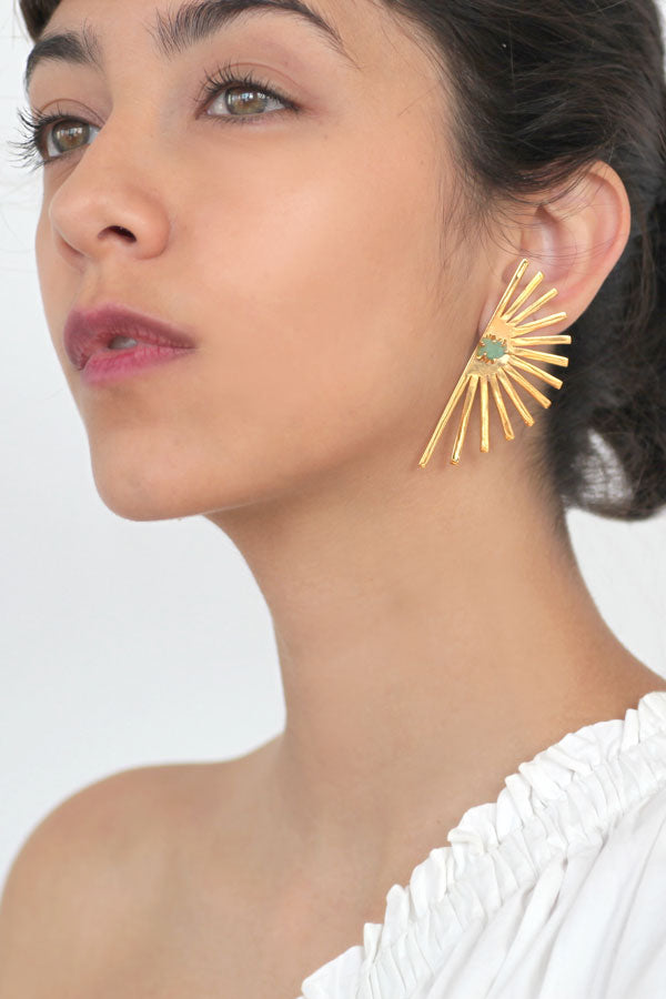 Tato Feather Studs- XL