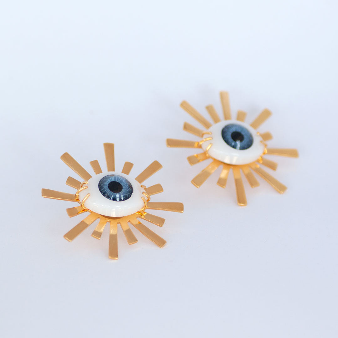 Third Eye Starburst Studs