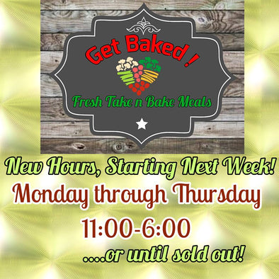 New store hours! Starting Monday April 30th!