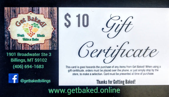 $ 10 Gift Card