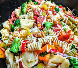 Open image in slideshow, Italian Pasta Salad with Pepperoni