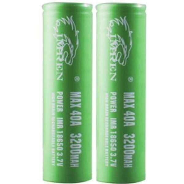 18650 Imren 3200Mah 20A/40A - 2Pk-Batteries-Imren-CRAZE Vapor Wholesale