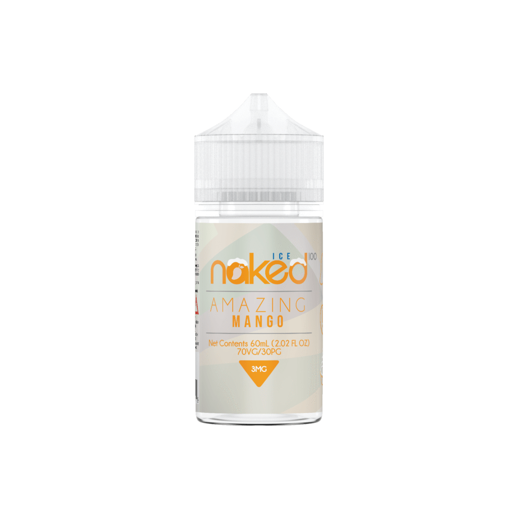 Amazing Mango Ice By Naked 100-eJuice-Naked 100-60ml-0.0% - 0mg-CRAZE Vapor Wholesale
