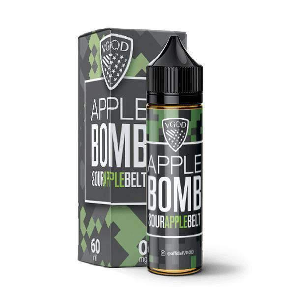 Apple Bomb By Vgod-eJuice-Vgod-60ml-0.0% - 0mg-CRAZE Vapor Wholesale