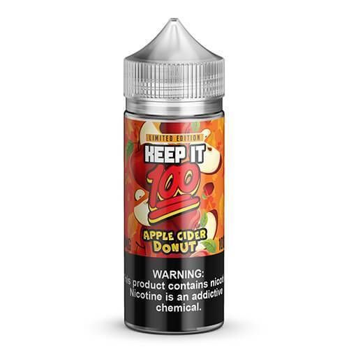 Apple Cider Doughnut by Keep It 100-eJuice-Keep It 100-100ml-0.0% - 0mg-CRAZE Vapor Wholesale