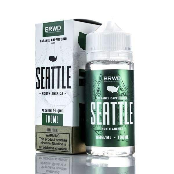 Caramel Cappuccino (Seattle) By Brwd-eJuice-Brwd-CRAZE Vapor Wholesale