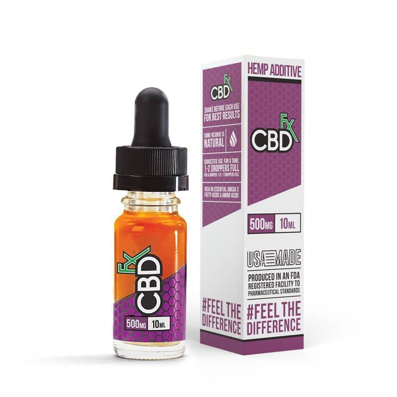 CBDfx | Hemp Additive 500mg-Hemp Additive-CBDfx-10ml-500mg-CRAZE Vapor Wholesale