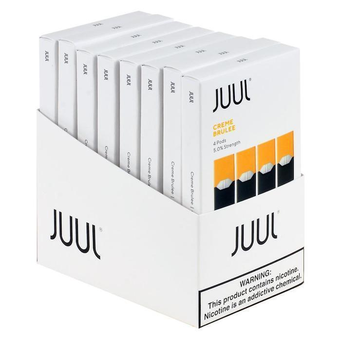 Creme Brulee JUUL Pods 5% 4-Pack | Display of 8-Replacement Pods-Juul-Display of 8-CRAZE Vapor Wholesale
