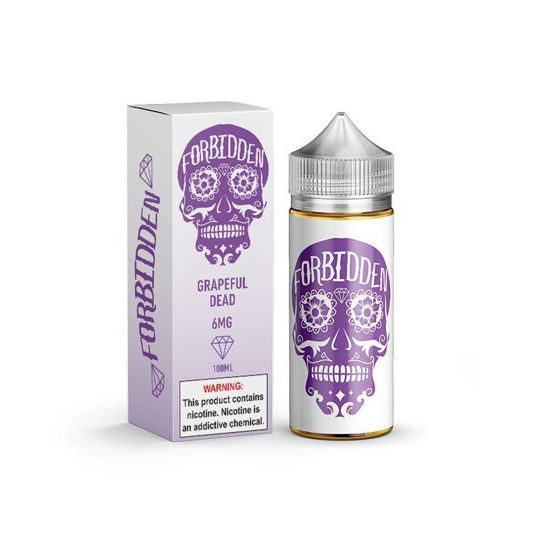 FORBIDDEN - GRAPEFULL DEAD 100ML-eJuice-Forbidden-0.0% - 0mg-CRAZE Vapor Wholesale