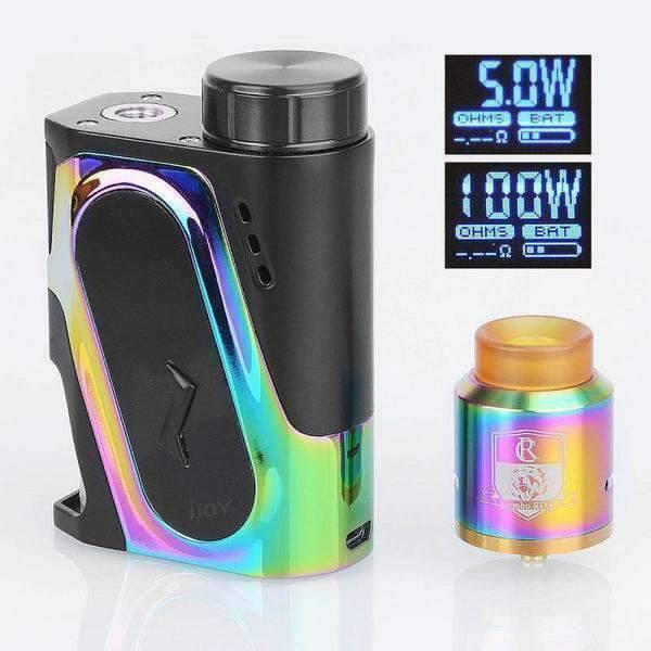 Ijoy Capo 9Ml Squonker Kit-Starter Kits-Ijoy-Rainbow-CRAZE Vapor Wholesale