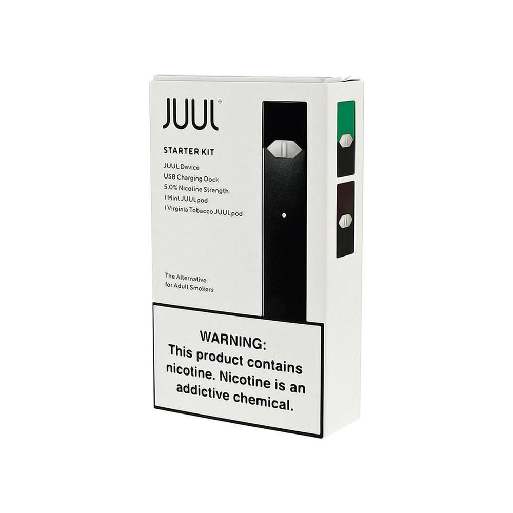 Juul Starter Kit | Virginia Tobacco & Mint 5% 2-Pack-Pod Kits-Juul-Display of 4-CRAZE Vapor Wholesale