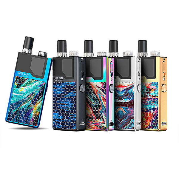 Lost Vape Orion Q 40W 950Mah Pod System Mod-Mods-Lost Vape-CRAZE Vapor Wholesale