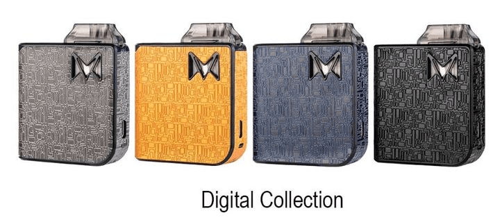 Mi-Pod Ultra Portable Kit By Smoking Vapor - Digital Finish - CRAZE Vapor Wholesale