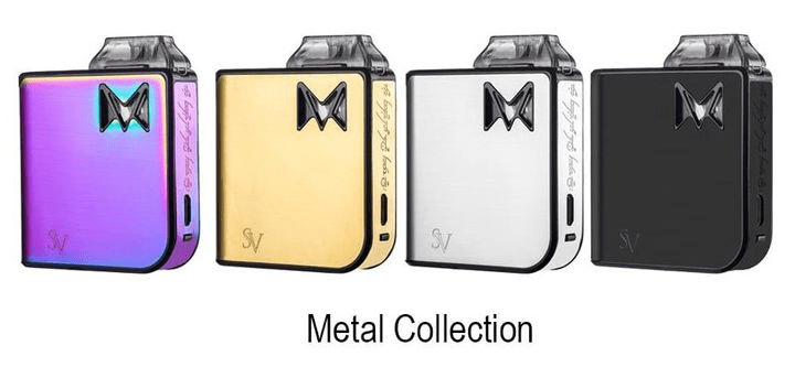 Mi-Pod Ultra Portable Kit By Smoking Vapor - Metal Finish - CRAZE Vapor Wholesale
