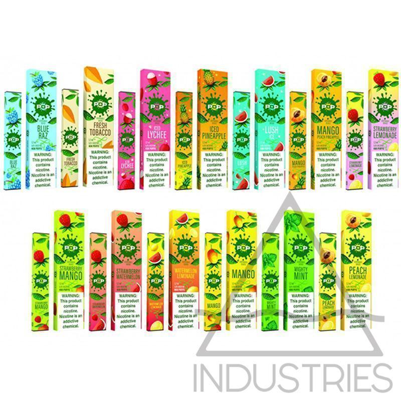 Pop Disposables - CRAZE Vapor Wholesale