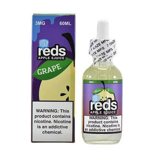 Reds Grape ICED by Reds Apple ejuice-eJuice-Reds Apple eJuice by 7Daze-60ml-0.0% - 0mg-CRAZE Vapor Wholesale