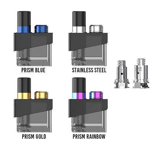 SMOK Trinity Alpha Single 2.8ML Refillable Replacement Pod Atomizer With 2 x Replacement Coils-Replacement Pods-SmokTech-CRAZE Vapor Wholesale