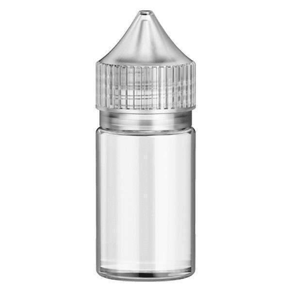 Unicorn Bottle Gen 2 (Crc And Tamper Evident) By Fh Packaging-Bottles-Fh Packaging-30ml-Clear-CRAZE Vapor Wholesale