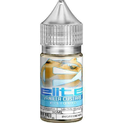 Vanilla Custard By Elite E-Juice-eJuice-Elite E-Juice-30ml-0.0% - 0mg-CRAZE Vapor Wholesale