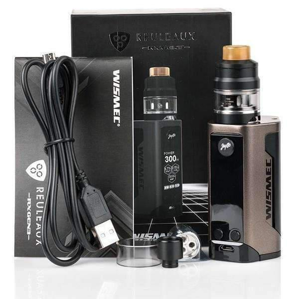 Wismec Reuleaux Rx Gen3 300W Tc Kit - CRAZE Vapor Wholesale