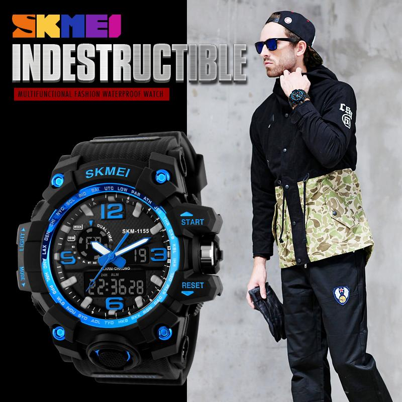 face gifts casual kx for military big leather watches minimalist wristwatch analog watch date band fashion sports electronic window men waterproof konxido products quartz mens classic business