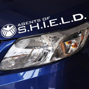 High quality Agents of Shield Reflective Car Sticker