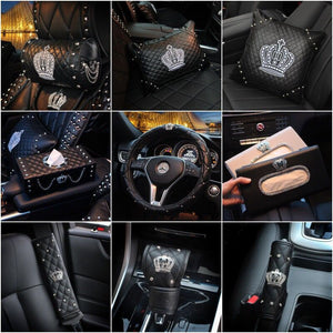 Crown Leather Car Accessories