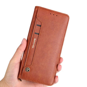 Luxury Leather Flip Wallet Case for Samsung Galaxy Note 8