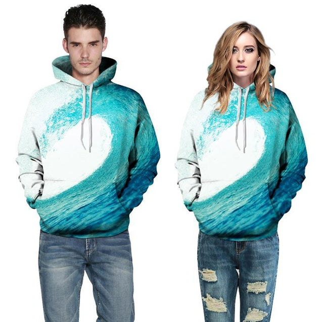 Sea Waves Sweatshirt