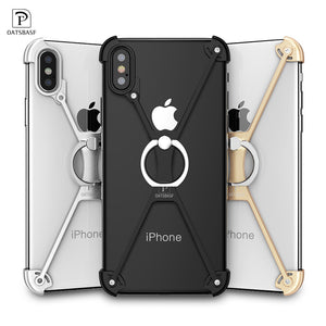 X Shape Ring Holder case For iPhone X SN0K160407