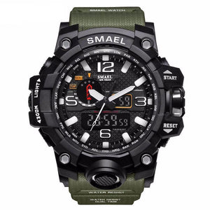 Waterproof Digital Watch LED Men's Wristwatch