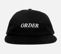 Order Low Crown Sports Cap (Black)
