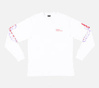 Order Cross Out Longsleeve (White)