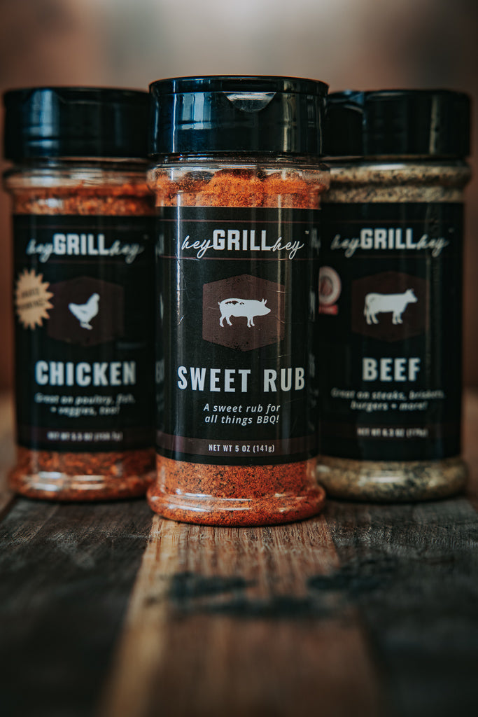 Hey Grill Hey Signature Seasonings - Small - 3 Pack