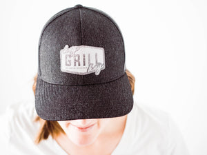 Hey Grill, Hey Logo Adjustible Hat