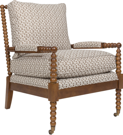 Beachwood Chair in Markia Meyer Roman Fig Fabric