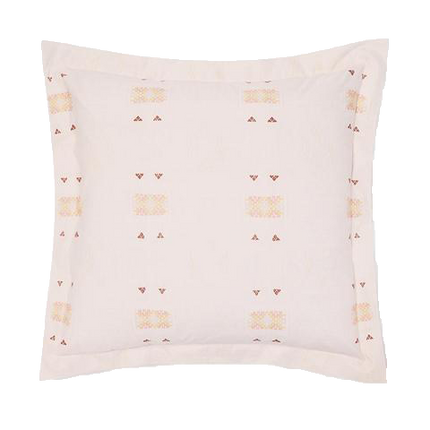 St. Frank Blush Cactus Silk Shams