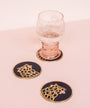 Cheetah Coaster Set of 4