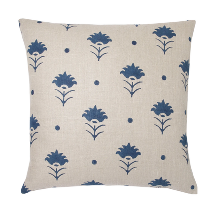 Pari Indigo Square Pillow