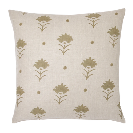 Pari Pistachio Square Pillow
