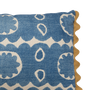 Osborne Blue Lumbar Pillow