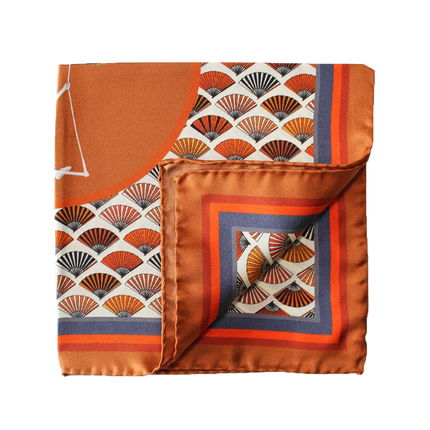 "Pochette Square: ""This is my Owl"" Pocket Square"